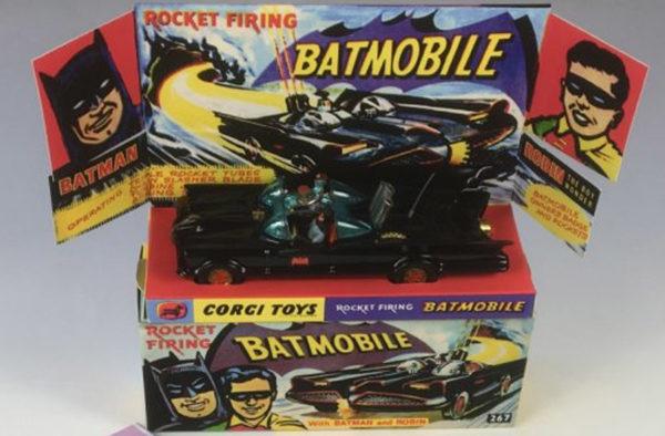 Vintage Corgi 267 Batmobile