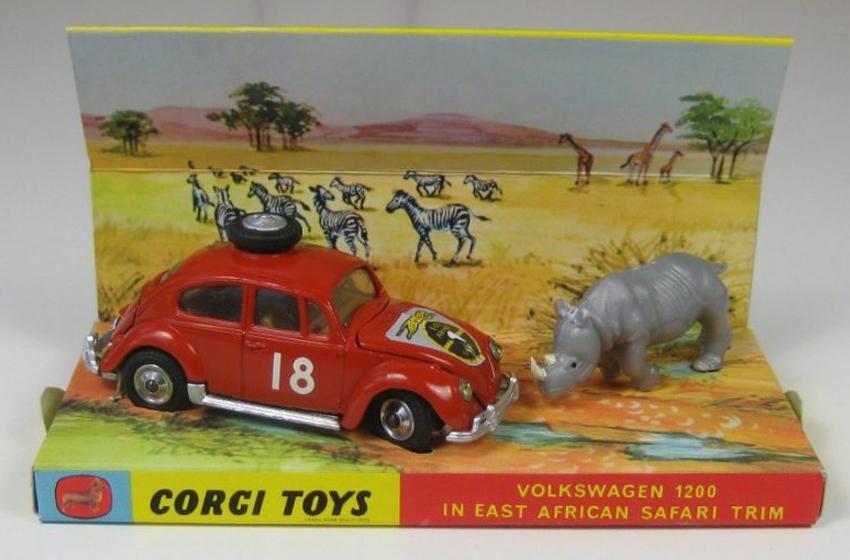 Repro box Corgi nº 256 VW 1200 Safari
