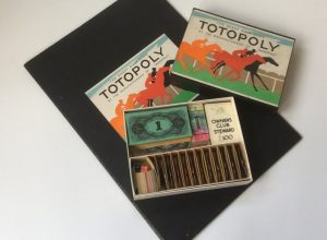 Totopoly board game waddingtons vintage 1940s