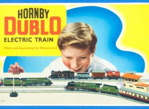 Hornby Dublo EDP12 Train Set box cover