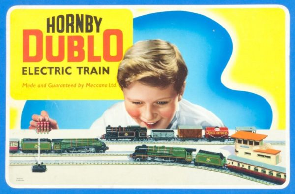Hornby Dublo EDP12 Train Set box cover