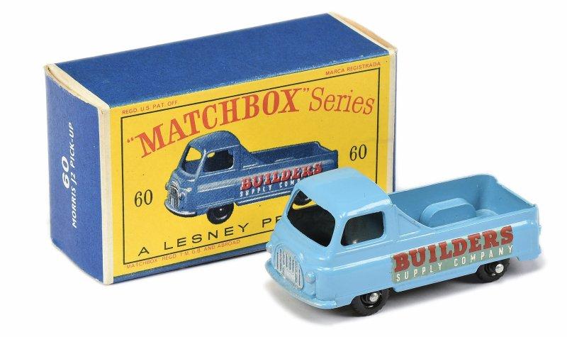Matchbox 60 Morris J2 Pick Up