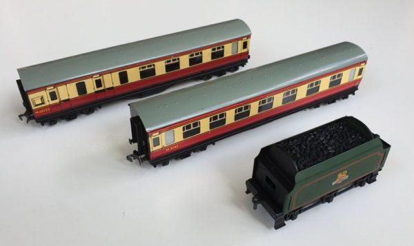 Vintage Hornby Dublo EDP12 Passenger Train Set
