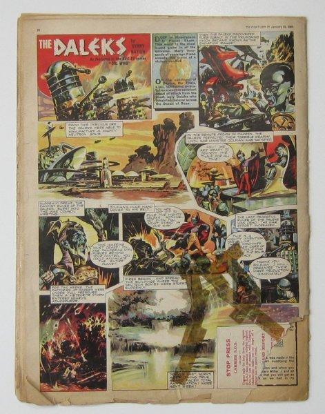 Vintage TV Century 21 comic 1960's Issue 1