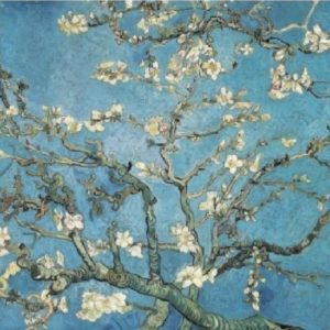 'Almond Blossom by Van Gogh' Wentworth Wooden Jigsaw Puzzle