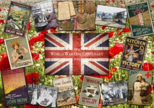 'First World War Centenary' Wentworth Wooden Jigsaw Puzzle