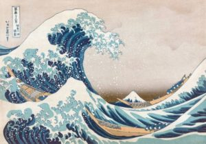 'The Great Wave off Kanagawa' Wentworth Wooden Jigsaw Puzzle