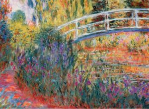 'Le Pont Japonais by Monet' Wentworth Wooden Jigsaw Puzzle