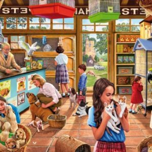 'Pet Shop' Wentworth Wooden Jigsaw Puzzle