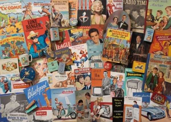 'Spirit of the 50's' Jigsaw Puzzle Gibsons 1000 pieces