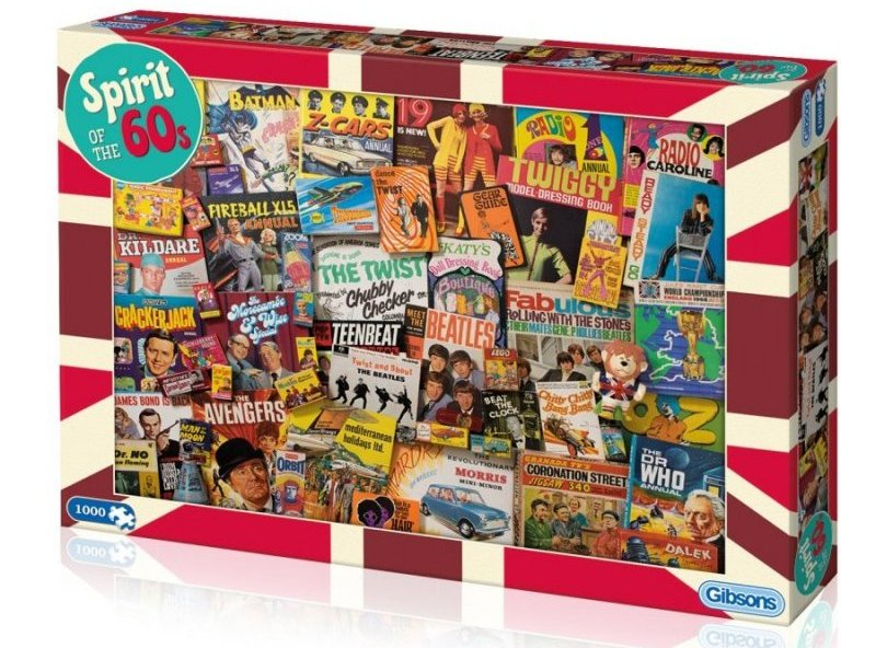 'Spirit of the 70's' Jigsaw Puzzle Gibsons 1000 pieces