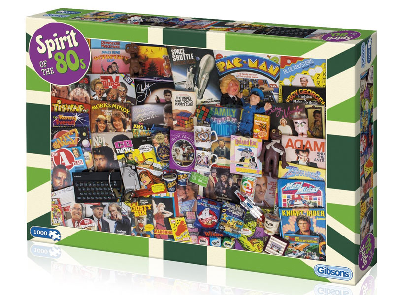 'Spirit of the 80's' Jigsaw Puzzle Gibsons 1000 pieces