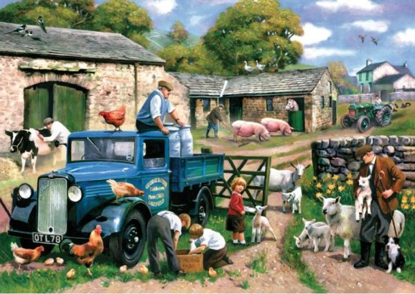 'SPRING FARM' Wentworth Wooden Jigsaw Puzzle
