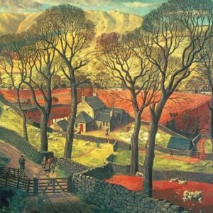 'SPRINGTIME IN ESKDALE' (LAKE DISTRICT) Wentworth Wooden Jigsaw Puzzle