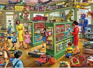 'Toy Shop' Wentworth Wooden Jigsaw Puzzle