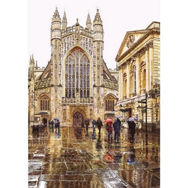 'Bath Abbey' Wentworth Wooden Jigsaw Puzzle