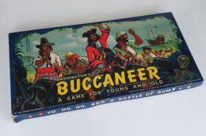 Vintage BUCCANEER Board Game Waddingtons 1960's