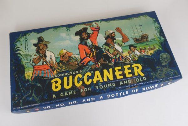 Vintage BUCCANEER Board Game Waddingtons 1960s