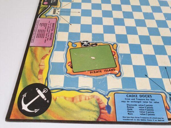 Vintage BUCCANEER Board Game Waddingtons 1960's
