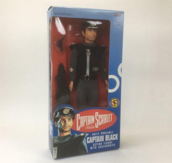 Vintage 'Captain Black' 12 inch Action Figure (Vivid Imaginations 1993)