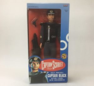 'Captain Black' 30cm Action Figure Vivid Imaginations 1993