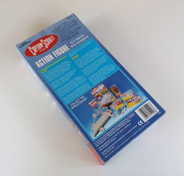 """Captain Scarlet 12"""" (30cm) Action Figure by Vivid Imaginations (1993)"""