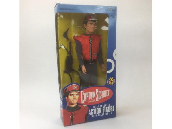 Vintage 'Captain Scarlet' 12 inch Action Figure (Vivid Imaginations 1993)