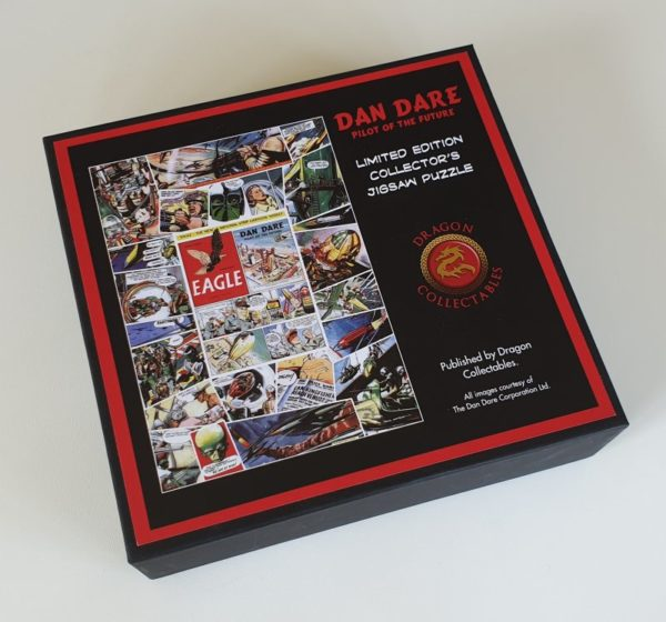 DAN DARE Limited Edition Wentworth Wooden Jigsaw Puzzle 500 pieces