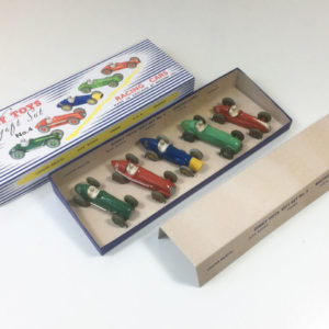 Dinky Gift Set 4 Racing Cars 1950s