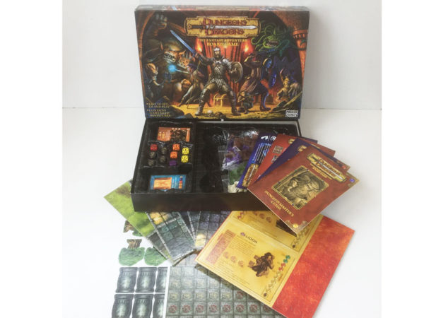 Vintage 'Dungeons & Dragons' Fantasy Adventure board game 2003