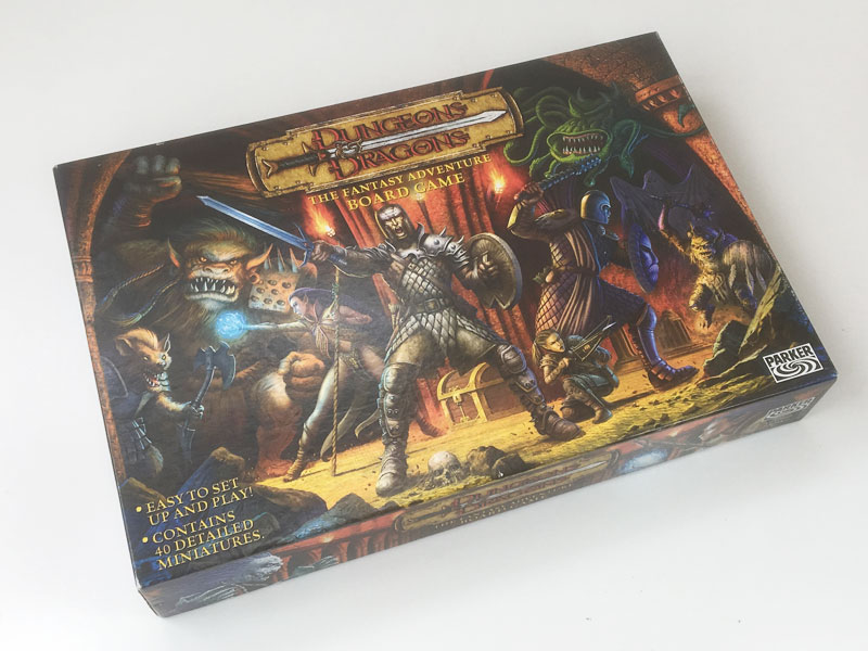 'Dungeons & Dragons' Fantasy Adventure board game 2003
