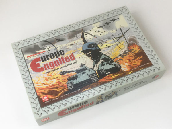 'Europe Engulfed' board game GMT Games 2003