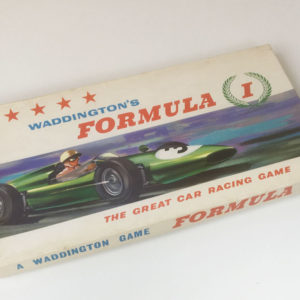 'Formula 1' board game 1st Edition by Waddington 1960's