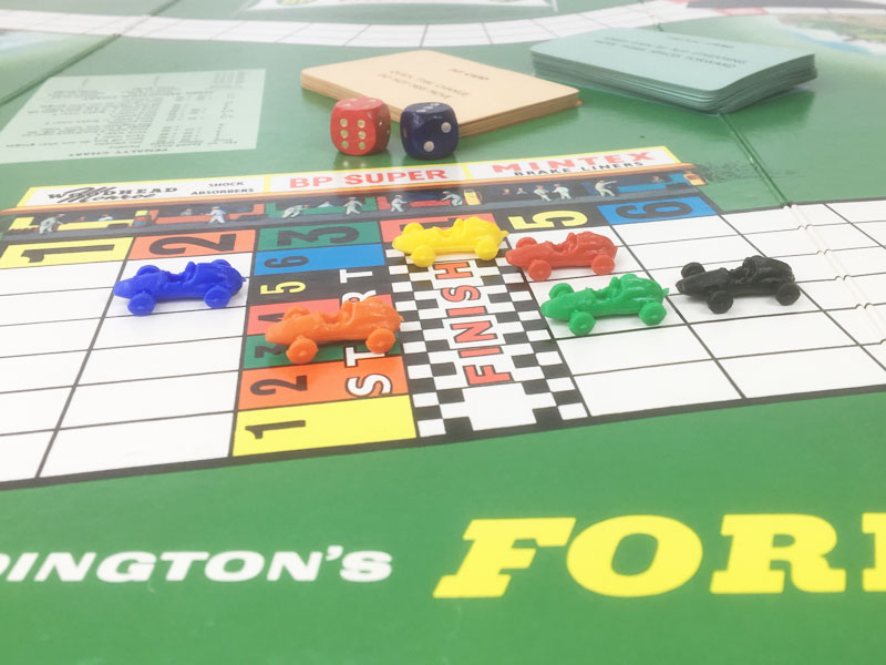 Vintage 'Formula 1' board game 1st Edition by Waddington 1960's