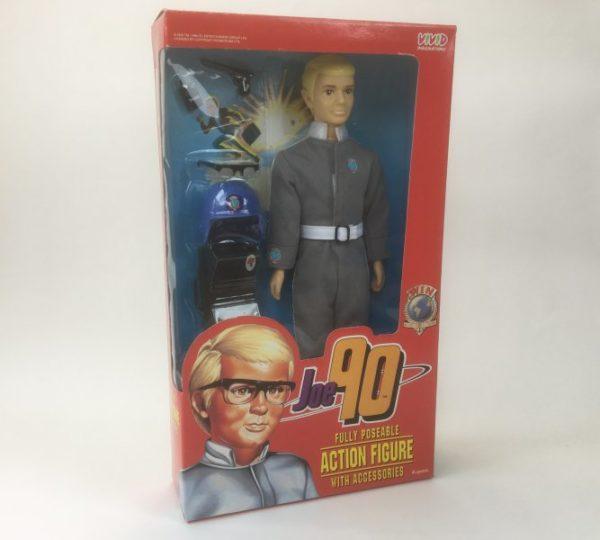 Vintage 'Joe 90' 30cm Action Figure Vivid Imaginations 1994