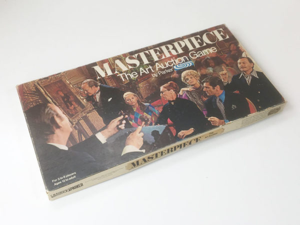 'Masterpiece' board game by Parker 1970's