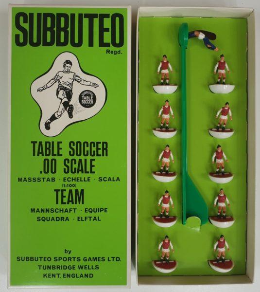 Vintage Subbuteo HW Team 16 Arsenal