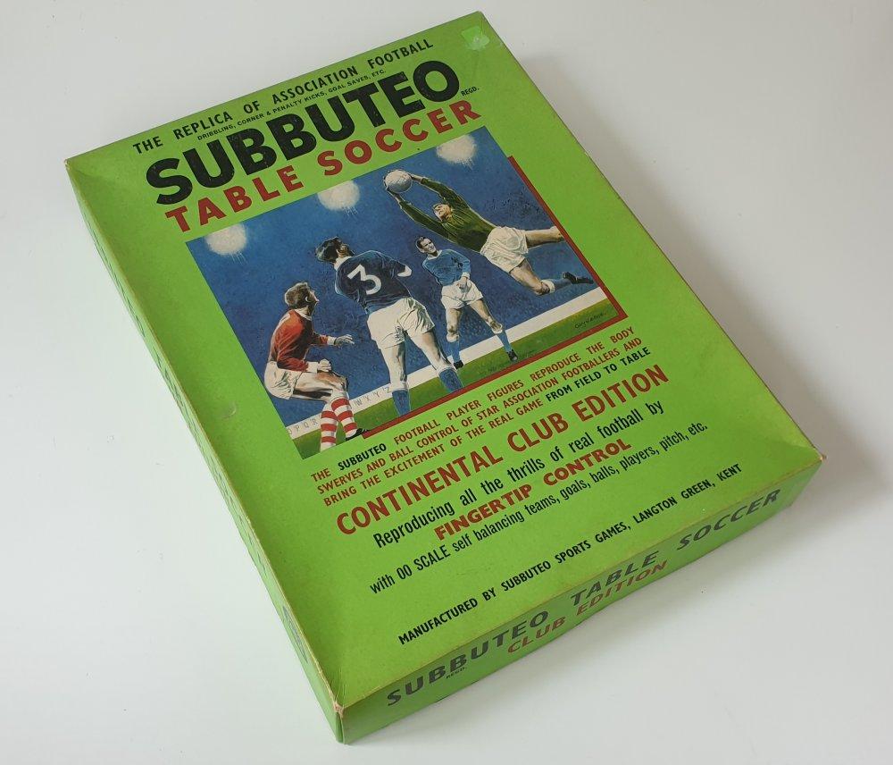 Vintage Subbuteo Continental Club Edition 1960s 1970s