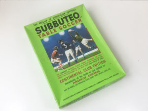 Subbuteo Continental Club Edition 1970's box