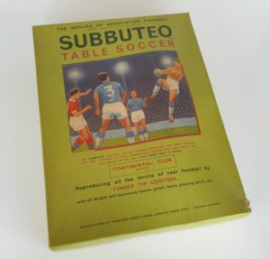 Vintage SUBBUTEO CONTINENTAL CLUB EDITION Set 1970's