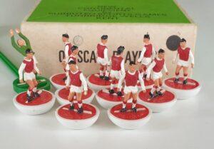 Vintage Subbuteo HW Team 16 Arsenal 1970's