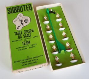 Vintage Subbuteo HW Team 56 Ajax Stuttgart 1970's