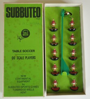 Vintage Subbuteo HW Team 57 A.C. Milan 1970's