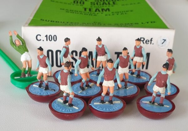 Vintage Subbuteo HW team 7 West Ham 1970's