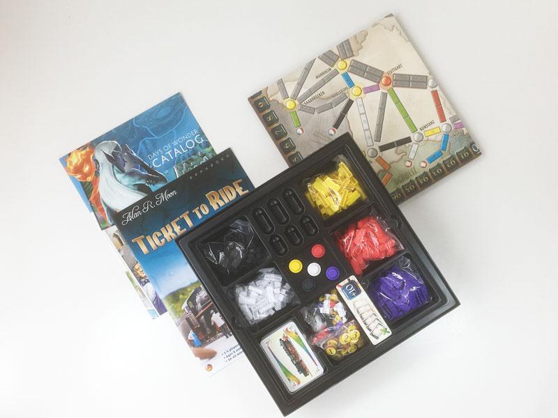 'Ticket To Ride Marklin' board game 2006