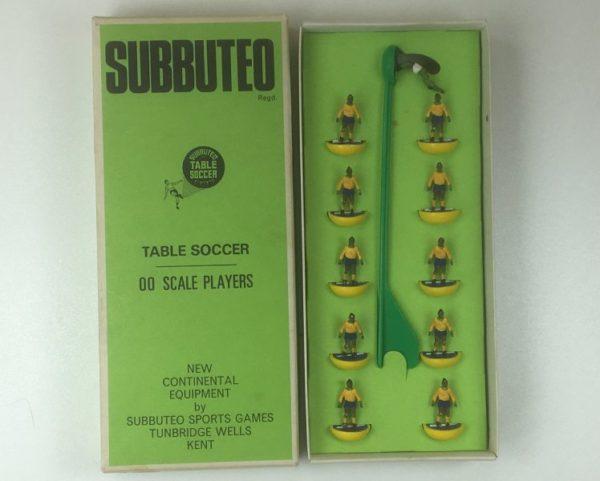 Vintage Subbuteo Team HW 50 Brazil