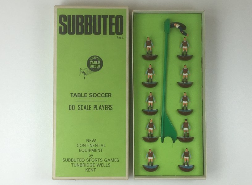 Vintage Subbuteo Team ref 7 West Ham