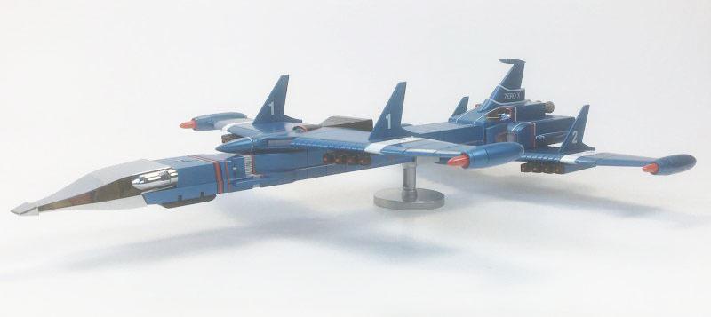 ZERO-X DIECAST MODEL Aoshima - Thunderbirds Captain Scarlet