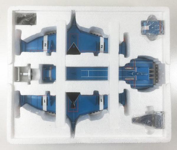 AOSHIMA ZERO-X DIECAST MODEL Thunderbirds Captain Scarlet