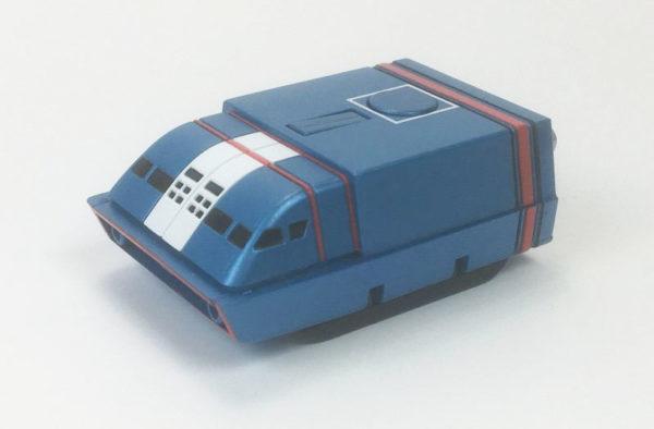 AOSHIMA ZERO-X DIECAST MODEL Thunderbirds Martian Exploration Vehicle